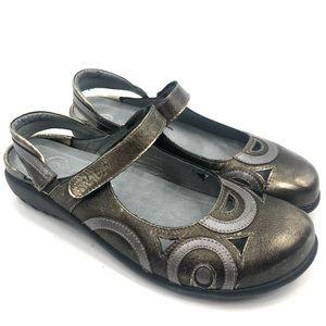 Naot Rongo Sling Back Mary Jane Flat Sandals
